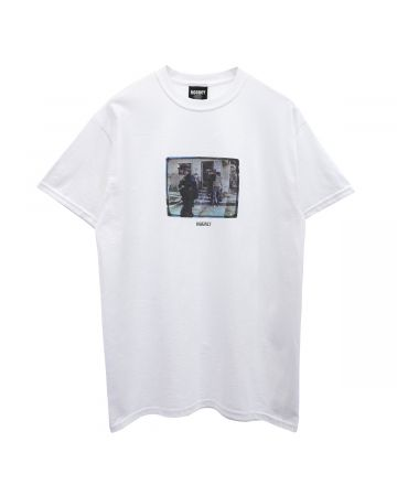 HOCKEY RICKS TEE / WHITE