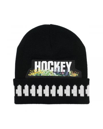 HOCKEY NEIGHBOR BEANIE / BLACK