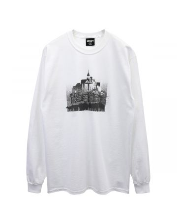 HOCKEY SOME KIND OF BALLAD LS TEE / WHITE