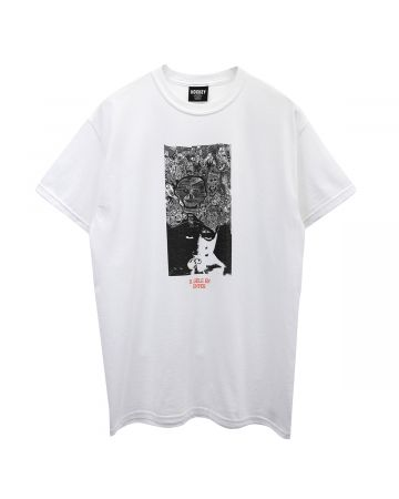 HOCKEY DISRUPTION TEE / WHITE