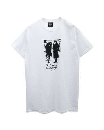 HOCKEY PRIVATE DEMONS TEE / WHITE
