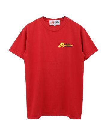 INFINITE ARCHIVES IA LOGO TEE / RED