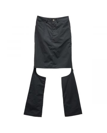 Jichoi SKIRT TROUSERS / BLACK