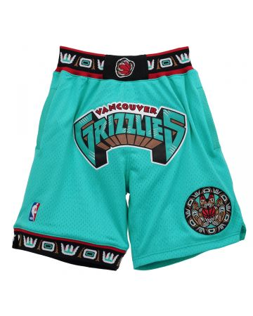 Just Don x Mitchell & Ness NBA JUST DON 90S SHORT GRIZZLIES 1995 / VGRTEAL95
