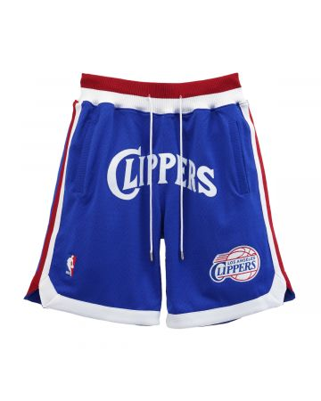 Just Don x Mitchell & Ness NBA JUST DON CLASSICS SHORT CLIPPERS / ROYAL BLUE