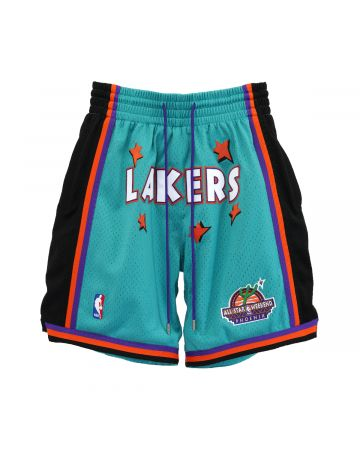 Just Don x Mitchell & Ness NBA JUST DON ROOKIE SHORT LAKERS / TURQUOISE