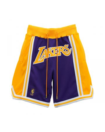 Just Don x Mitchell & Ness NBA JUST DON ROAD SHORT LAKERS / PURPLE