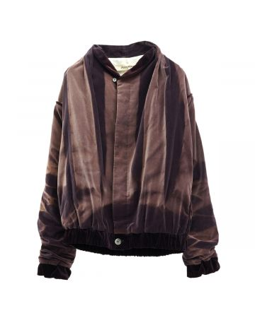 JiyongKim SUNFADED SHAWL COLLAR JACKET / PURPLE