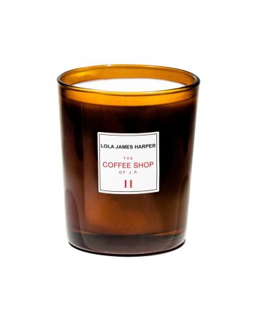 LOLA JAMES HARPER CANDLE 11 THE COFFEE SHOP OF JP