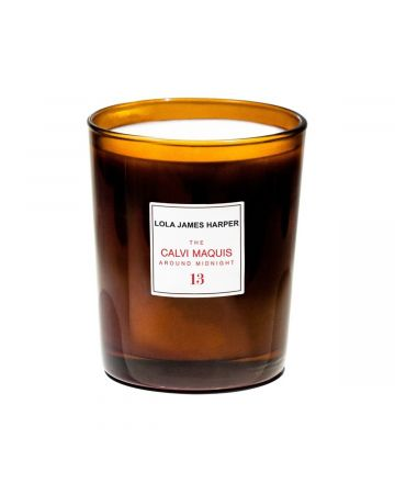 LOLA JAMES HARPER CANDLE 13 THE CALVI MAQUIS AROUND MIDNIGHT