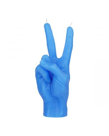 CANDLE HAND VICTORY / BLUE