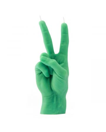 CANDLE HAND VICTORY / GREEN