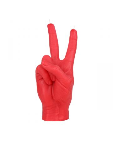CANDLE HAND VICTORY / RED