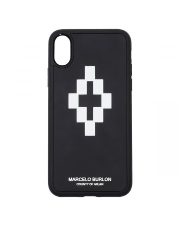 MARCELO BURLON CROSS 3D X CASE / 1001 : BLACK WHITE