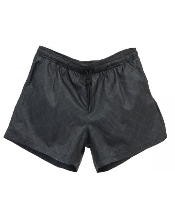 MARCELO BURLON ALL OVER COUNTY SWIM SHORTS / 1010 : BLACK BLACK