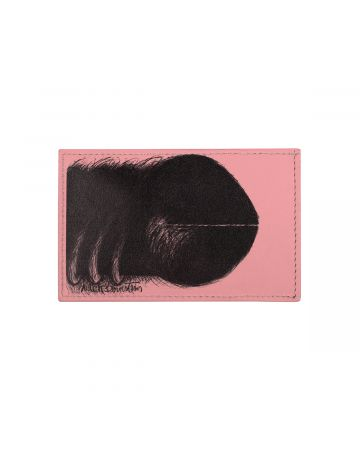 MEDEA JUDITH BERNSTEIN CARD HOLDER / HOT PINK