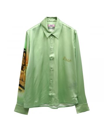Martine Rose BONBON SHIRT / PASTEL GREEN