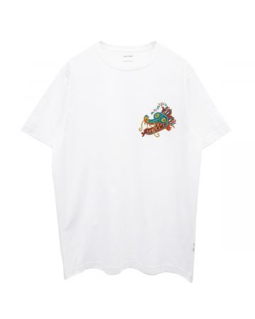 maharishi DIO SERPENTE EMBROIDERY / WHITE