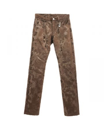 1017 ALYX 9SM PONY PANT WITH A RING / BRW0003 : DARK BROWN