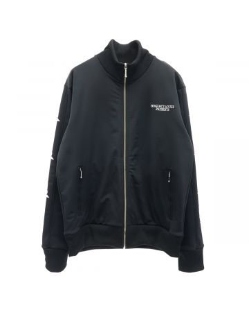 NEGLECT ADULT PATiENTS ANTI TECHNOLOGY JERSEY JACKET / BLACK