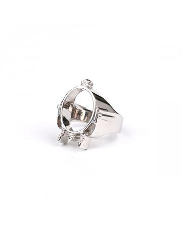 nicedreams CHRONIC RING / SILVER