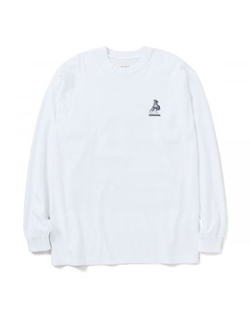 NEIGHBORHOOD x ONE OF THESE DAYS OOTD-2/C-CREW.LS / WHITE