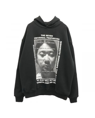 NISHIMOTO IS THE MOUTH HOODIE / BLACK