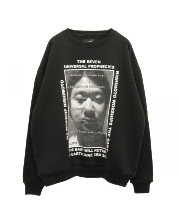 NISHIMOTO IS THE MOUTH SWEATSHIRT / BLACK