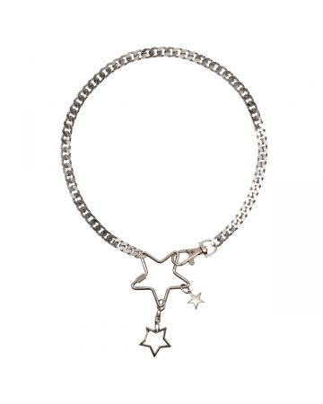 OHT NYC STAR UTILITY NECKLACE / SILVER