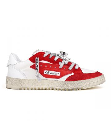OFF-WHITE c/o Virgil Abloh MENS 5.0 SNEAKERS / 0129 : WHITE RED VINTAGE
