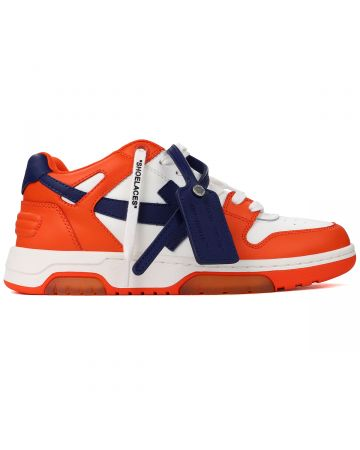 OFF-WHITE c/o Virgil Abloh MENS OUT OF OFFICE CALF LEATHER / 2045 : ORANGE BLUE