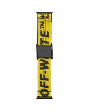 OFF-WHITE c/o Virgil Abloh WOMENS IWATCH IND2.0 BELT BAND 38/40 / 1810 : YELLOW BLACK