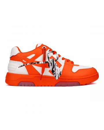 OFF-WHITE c/o Virgil Abloh MENS OUT OF OFFICE CALF LEATHER / 2501 : RED WHITE