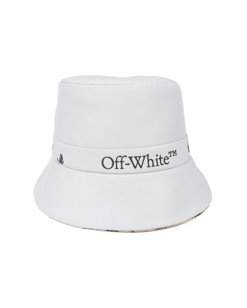 OFF-WHITE c/o Virgil Abloh WOMENS LOGO CDC RAIN CAP / 0510 : LIGHT GREY BLACK