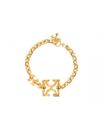 OFF-WHITE c/o Virgil Abloh WOMENS ARROW BRACELET / 7600 : GOLD NO COLOR