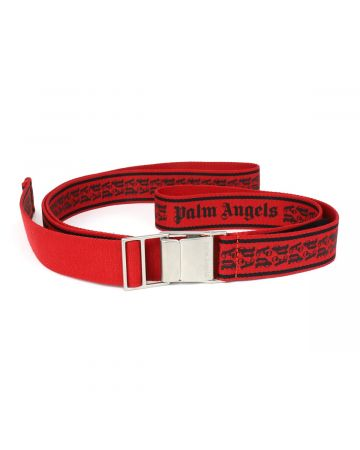 Palm Angels NEW TAPE BELT / 2010 : RED BLACK