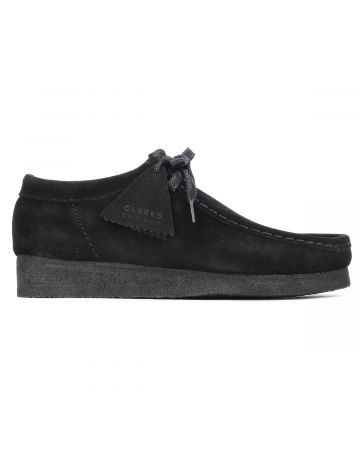Palm Angels WALLABEE SUEDE / 1001 : BLACK WHITE