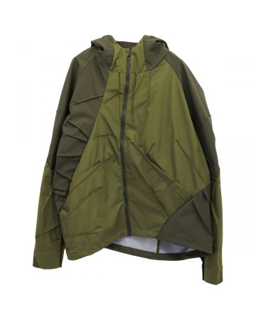 POST ARCHIVE FACTION 4.0+ TECHNICAL JACKET CENTER / OLIVE GREEN