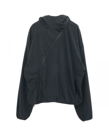 POST ARCHIVE FACTION 4.0+ HOODIE CENTER / BLACK