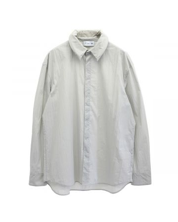 POST ARCHIVE FACTION 4.0 SHIRTS RIGHT / LIGHT GREY