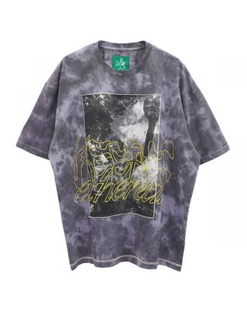 P.A.M. KEEP IT ETHEREAL OVERSIZED REVERSIBLE SS TEE / MARBLE