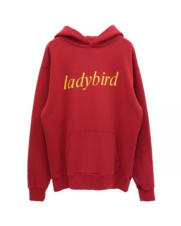 A Positive Messages BUGGING HOODED SWEAT / LADY BUG RED