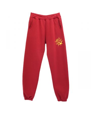 A Positive Messages BUGGING TRACK PANTS / LADY BUG RED