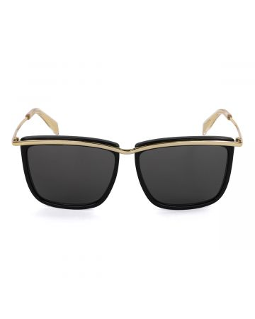 CELINE SUNGLASSES/3KITCLBIGR00 / BLACK-GOLD(BLACK)