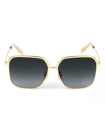 CELINE SUNGLASSES/3KITCLBIGLR0 / GOLD(BLACK)