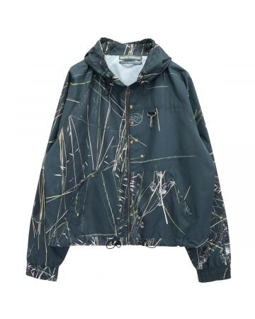 REESE COOPER RIPSTOP ZIPPED HOODED JACKET / BRUSH CAMO