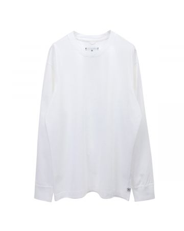 Reigning Champ LONG SLEEVE T-SHIRT / 010 : WHITE