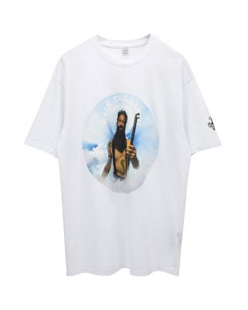 Roman Skelly WALK THE EARTH SHIRTS / WHITE