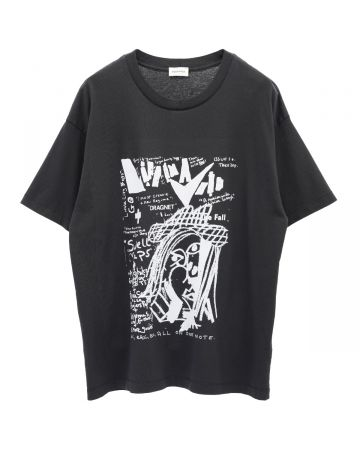 SEEKINGS LIFE IN A VOID T-SHIRT / WASHED BLACK