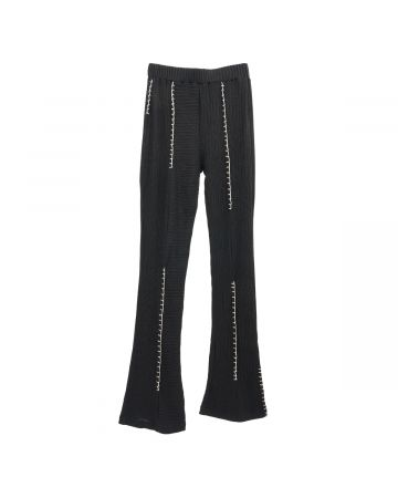 SHOOP NEW GIRONA UPCYCLED LOUNGE PANTS / BLACK